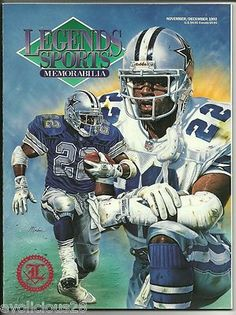 Legends Sports Memorabilia Emmitt Smith 1992 Dallas Cowboys Bonus Cards | eBay