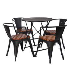 创意咖啡厅阳台桌椅组合三件套 室外折叠星巴克休闲露台户外桌椅-淘宝网
