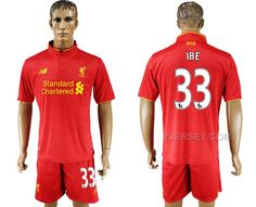 http://www.yjersey.com/201617-liverpool-33-ibe-home-soccer-jersey.html #2016-17 LIVERPOOL 33 IBE HOME SOCCER JERSEYOnly$35.00  Free Shipping!
