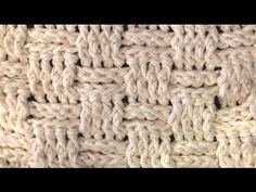 BASKET WEAVE STITCH Crochet How To - http://www.knittingstory.eu/basket-weave-stitch-crochet-how-to/