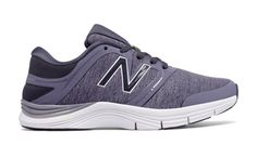 New Balance 711v2 Heathered Trainer, Cosmic Sky with Heather Charcoal