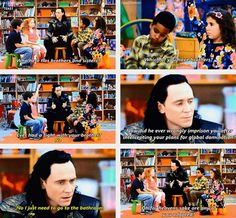 Loki and kids... Oh for heaven's sake are any of you adopted?
