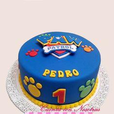 Paw Patrol Birthday Cake, Paw Patrol Party, Pastel Paw Patrol, Torta Paw Patrol, Paw Patrol Rocky, Cake Smash, Fondant, Food And Drink, Desserts