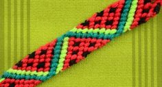 Follow this video tutorial to learn how to make a fruity friendship bracelet.
