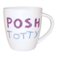 #Posh totty mug