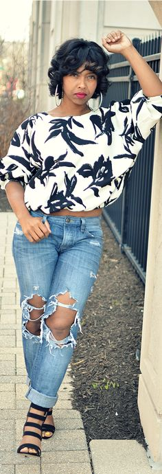 Spring Outfit Idea, Crop Top