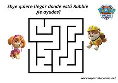 Teaching Kids, Kids Learning, Imprimibles Paw Patrol, Zoo Coloring Pages, Cumple Paw Patrol, Arabic Alphabet For Kids, Paw Patrol Coloring, Mazes For Kids, Paw Patrol Party