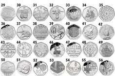 IF you have a in your purse, it's worth checking the design to see if it could be one of the rarest, and most valuable, coins in circulation. While the rarest – the Kew Gard… Rare 50p Coins Value, 50p Coin Value, Rare British Coins, Rare Coins, Devon, English Coins, Fifty Pence Coins, Foreign Coins, Valuable Coins