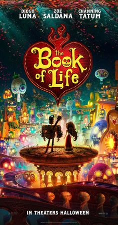 Book of Life (2014) Can't wait for this movie!