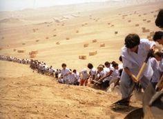When Faith Moves Mountains (Lima, Peru 2002) - Francis Alÿs