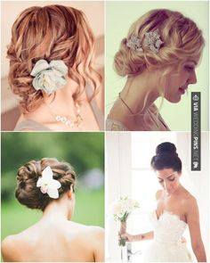 Brilliant - 17 You'll Want to Pin to Your Pinterest Wedding Board   CHECK OUT MORE IDEAS AT WEDDINGPINS.NET   #weddings #hair #weddinghair #weddinghairstyles #hairstyles #events #forweddings #iloveweddings #romance #beauty #planners #fashion #weddingphotos #weddingpictures