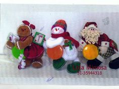Molde Santa claus reno y galleta Gingerbread Man, Christmas Projects, All Things Christmas, Projects To Try, Felt Projects, Santa, Quilts, Christmas Ornaments, Holiday Decor