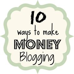 Starting your own blog? Beginner blogger? Want to make it a business? This is a crash course in how to make money blogging with 10 different ways.