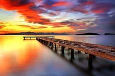 Colorful Sunset - Sunsets & Nature Background Wallpapers on ...