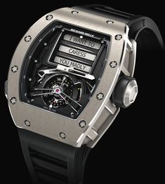 "Richard Mille RM 69 Erotic Tourbillon Watch - by David Bredan - on aBlogtoWatch.com ""'I WANT TO CARESS YOU MADLY' These are the exact words that greeted me some time ago when I first learned about the all-new Richard Mille RM 69 Erotic Tourbillon. Now, if only there were an app that allowed me to review the exact thoughts that rampaged through my brain for the next five seconds..."""