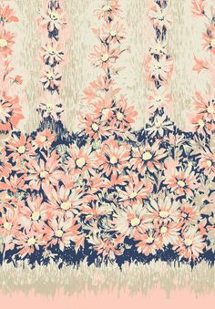 Border Floral - would make such a great dress or top!