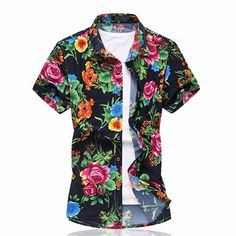 Alanic Global, reputed manufacturer, offers best quality of floral printed sublimated shirt at wholesale rate in USA, Australia and Canada.