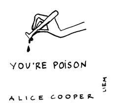 Alice Cooper. Poison.