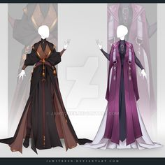Outfit 289 by JawitReen on DeviantArt Dress Drawing, Drawing Clothes, Character Costumes, Character Outfits, Anime Outfits, Cool Outfits, Fashion Design Sketches, Designs To Draw, Costume Design