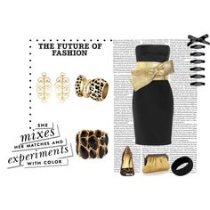 """for our renewal of wedding vows-""""gold"""" by holly-dale-kyle-norwood on Polyvore"""