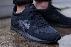 The Asics Gel Lyte V is back in black. Asics has been dominating summer 2015 with their in-house colorway options. The retro running imprint has had a keen eye for what works on their lifestyle classics, and with the Gel … Continue reading →