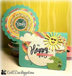 Fun cards by Tara Sell using the June 2015 card kit by Simon Says Stamp