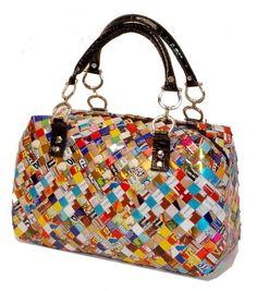 Make a candy wrapper purse
