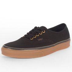 Cool Vans - Unisex Authentic Shoes In Black/Rubb