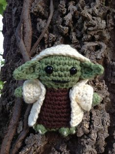 Master Yoda from Soul Sundries. Look at his little robe!!! :-)