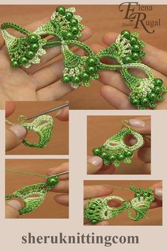 Crochet Shell Motif Lace Tutorial 32 Crochet beaded shell motif lace was made with Steel Crochet Hook (which is US standard) or mm and with yarn: Cotton, beads: d – 8 mm. Crochet Leaves, Crochet Motifs, Crochet Trim, Bead Crochet, Irish Crochet, Crochet Crafts, Crochet Earrings, Diy Crafts, Crochet Flower Tutorial