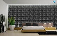 A-001, Black Mirror Tiles, Curtains, Black, Home Decor, Blinds, Decoration Home, Black People, Room Decor, Draping