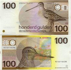 Netherlands, old 100 Gulden bill (p97)
