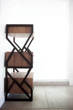 Lábrica: Modern Guatemalan Design Cabinet Furniture, Furniture Decor, Furniture Design, Shelf Design, Cabinet Design, Wood Cabinets, Home And Living, Home Furnishings, Product Ideas