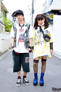 Harajuku Punk Street Fashion