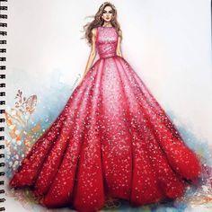 New Design Fashion Sketches Illustration Elie Saab Ideas Dress Design Drawing, Dress Design Sketches, Fashion Design Sketchbook, Fashion Design Drawings, Dress Drawing, Fashion Sketches, Drawing Sketches, Wedding Dress Sketches, Drawing Clothes
