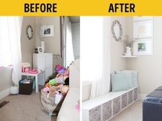 10 great ideas for arranging things at home in perfect order – susamaimily Nursery Organization, Home Organization Hacks, Master Bedroom Closet, Kids Bedroom, Ideas Para Organizar, Paint Colors For Living Room, Nursery Room, Homemaking, Small Spaces