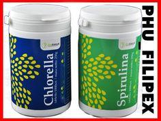 CHLORELLA * SPIRULINA * Zestaw 2000 tabletek