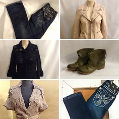 Boots, jeans, jackets, and sweaters...it's that time of year and we have lots in stock online and in-store...check out our items online and make sure to drop by our store to see our incoming fall arrivals!