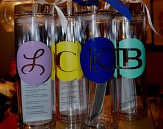 Personalized Tumbler, 1 piece Bridesmaid Gift, Wedding Favor, Monogram Tumbler, Bridesmaid Tumbler, Gifts for Bridesmaids by paolabrownshop. Explore more products on http://paolabrownshop.etsy.com