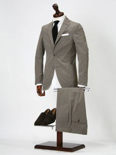 Cotton suit. Probably Caruso...