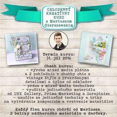 Celodenný kreatívny kurz s talentovaným Mariuszom (31. júl 2016)