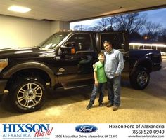https://flic.kr/p/DBn81R   Happy Anniversary to Larry on your #Ford #Super Duty F-350 SRW from Michael Bolen at Hixson Ford of Alexandria!   deliverymaxx.com/DealerReviews.aspx?DealerCode=UDRJ