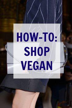 to Shop Vegan: 5 Beginner Tips to Make It Easy I'm not a vegan, but good to know if I ever take that big step into it. Tips for beginners!I'm not a vegan, but good to know if I ever take that big step into it. Tips for beginners! Vegan Foods, Vegan Vegetarian, Vegan Recipes, Raw Vegan, Vegan Shopping, Shopping Hacks, How To Become Vegan, Vegan Clothing, Vegan Fashion