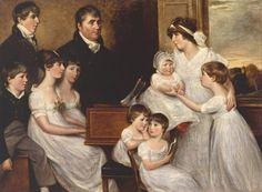 The Athenaeum - The Bridges Family (John Constable)