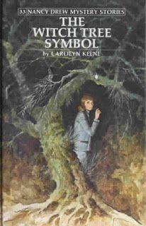 Series Books for Girls: Nancy Drew #33 The Witch Tree Symbol