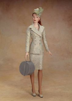 Tyler Wentworth ~ Central Park Benefit Luncheon, outfit only, 1999 ~ The Fashion Doll Chronicles