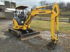 2006 Komatsu PC35MR-2 Track Mini Excavator HydraulicTrack Hoe Backhoe Diesel