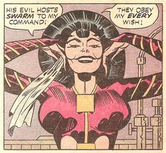 They Obey My Every Wish! (by Jack Kirby and Mike Royer from The Demon #16, 1974)