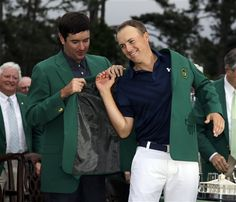 (AP) >> Jordan Spieth got more than redemption and a green jacket Sunday. He took his place among the best in the game with a Masters victory for the ages. Masters Green Jacket, Jordan Spieth, Masters Golf, Texas Homes, Sports Stars, Local News, Current Events, Victorious, Finals