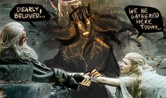 actually I don't get tumblr hobbit posters hysteric but gandalf and galadriel on this one are just….fabulous x)))
